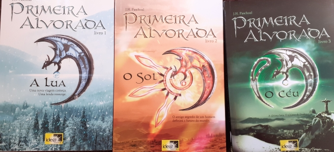Livros da trilogia Primeira Alvorada